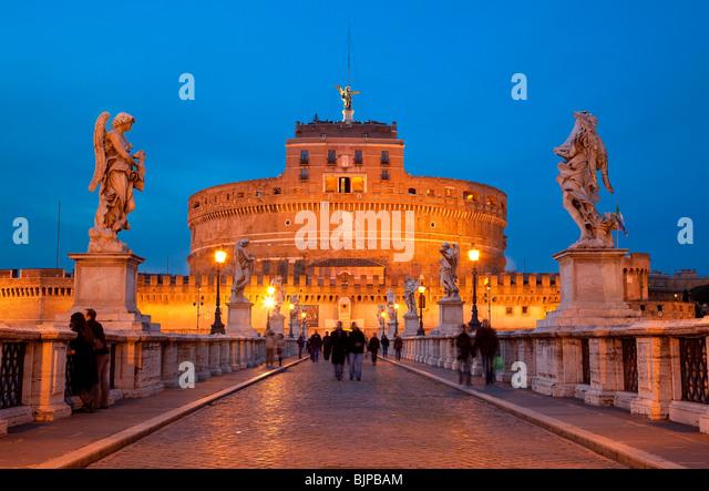 Castel San Angelo, Rome - Stock Image