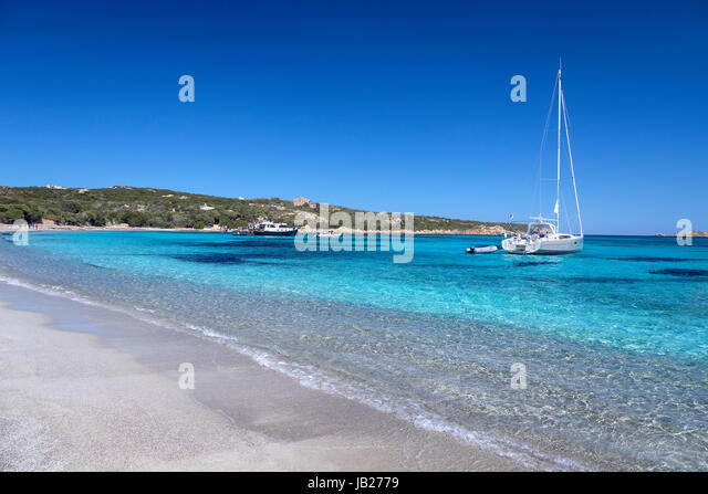 The Maddalena Archipelago - a group of islands in the Straits of Bonifacio between Corsica (France) and north-eastern - Stock Image