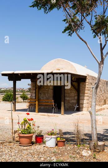 Church of St George, Agios Georgios, Potamos, Liopetri, Cyprus. - Stock Image