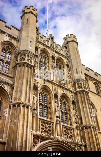 The University city of Cambridge in England. The University was founded by Henry VIII. - Stock-Bilder
