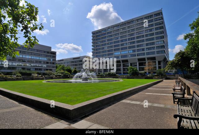 St Thomas' Hospital, Westminster Bridge Road, London, SE1 7EH, United Kingdom - Stock Image