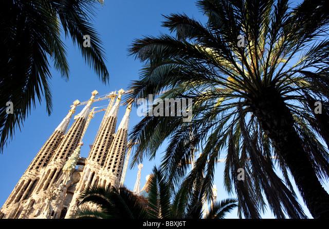 Sagrada Familia, Barcelona, Spain - Stock-Bilder