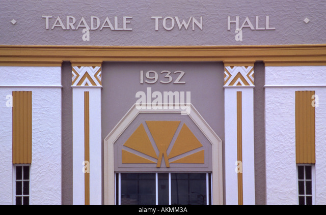 Taradale stock photos taradale stock images alamy for Art deco architectural details