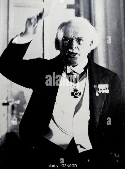 David Lloyd George, (17 January 1863 – 26 March 1945) - Stock Image