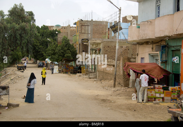 Egypt, Luxor. Typical view of everyday life. - Stock-Bilder