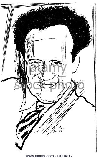 Sergei Eisenstein, Russian film director, 20th century. Artist: Yury Annenkov - Stock-Bilder