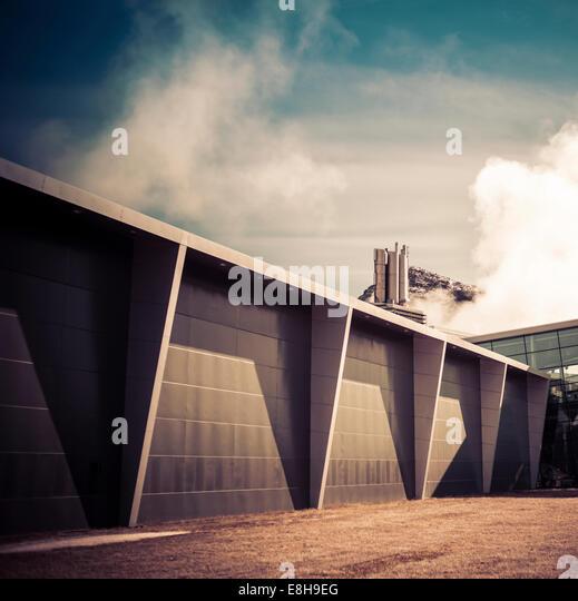 Hellisheiði Geothermal power station, Iceland. - Stock Image