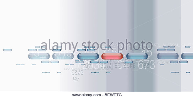 Data and code design - Stock Image