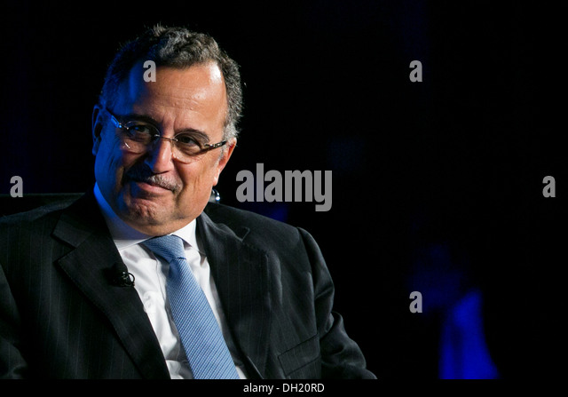 Egyptian Foreign Minister Nabil Fahmy. - Stock Image
