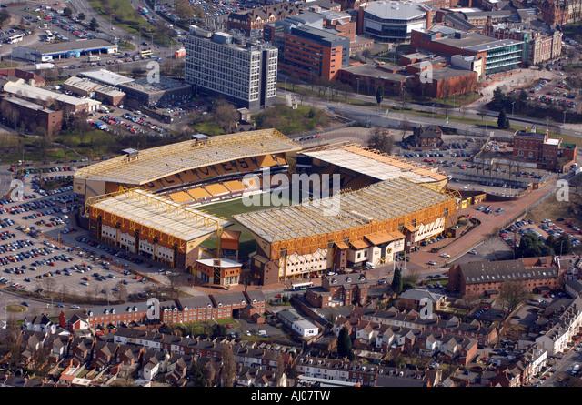 Wolverhampton Aerial Stock Photos & Wolverhampton Aerial