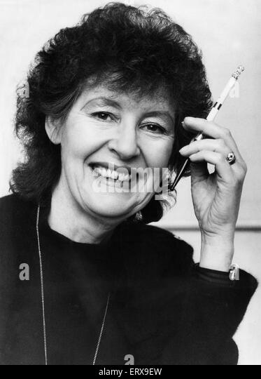 Birmingham Mail fashion editor Barbara Henderson. 8th January 1985. - Stock Image