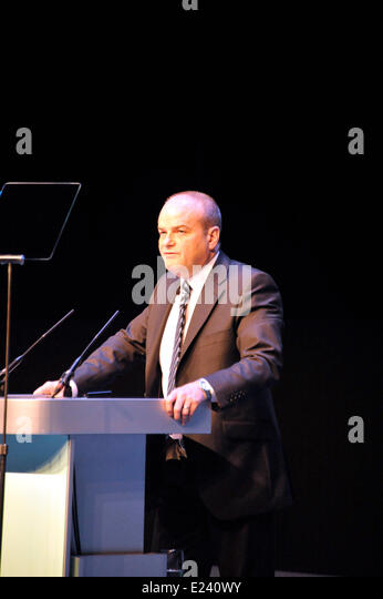 Liverpool UK 15th June 2014. RCN - Royal College of Nurses Annual Congress opens in Liverpool today.Standing Robert - Stock Image
