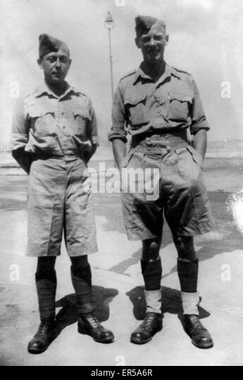 World War 2 Soldiers, .  1940s - Stock Image