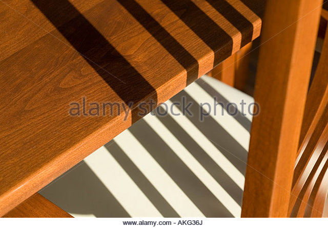 Graphic detail of chair and lines. - Stock Image
