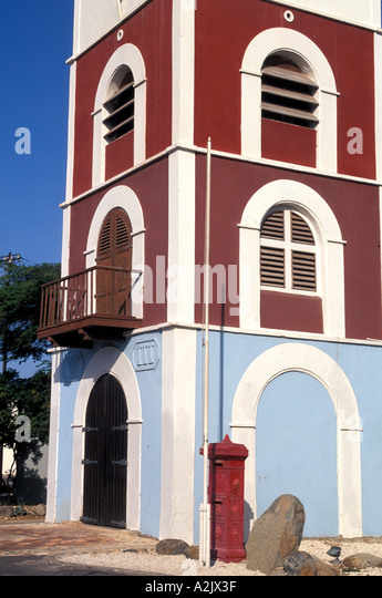 Aruba Historical Museum Fort Zoutman downtown Oranjestad - Stock Image