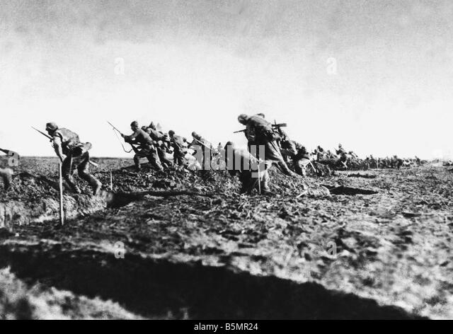 9 1917 1 0 A1 1 Turkish troops Romania WWI World War One Romania Romanian campaign August 1916 January 1917 Victory - Stock-Bilder