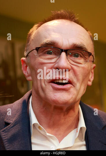 Edinburgh, UK. 22nd January, 2017. T2 Trainspotting premiere at Edinburgh Cineworld. Scotland. Pictured Danny Boyle. - Stock-Bilder