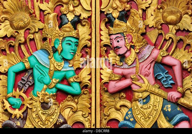 Ulun Danu Bratan Temple, Bratan Lake, Bali, Indonesia, Asia - Stock Image