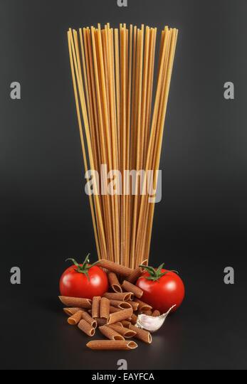 Spelt Wholegrain Pasta - Stock Image