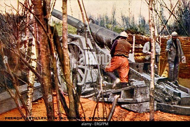 verdun how to use artillery