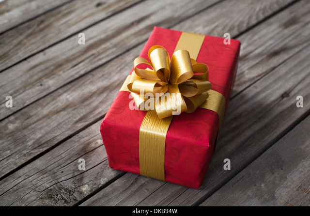 gift for valentines day or christmas - Stock Image