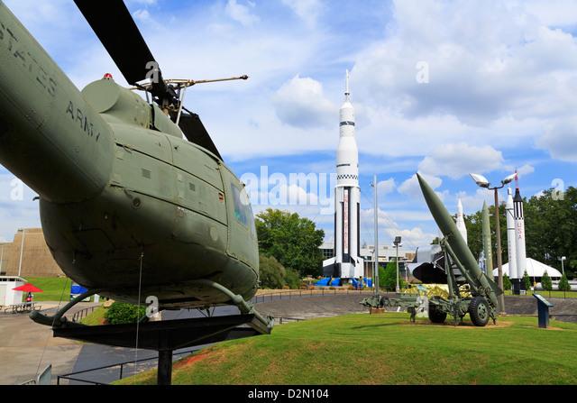 United States Space and Rocket Center, Huntsville, Alabama, United States of America, North America - Stock Image