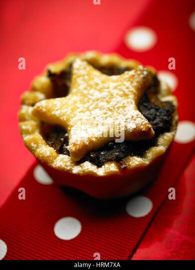 Fruit chrismas cake - Stock Image