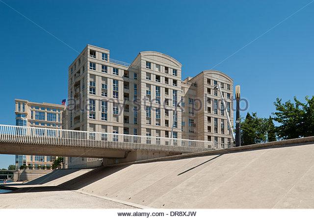 Montpellier, moderne Architektur, modern Architecture - Stock-Bilder