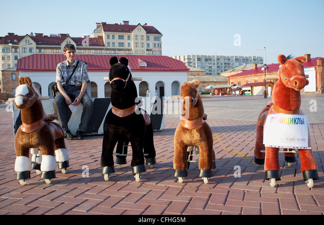 Omsk (Omck), Russia, 2011: Everyday life - Stock-Bilder