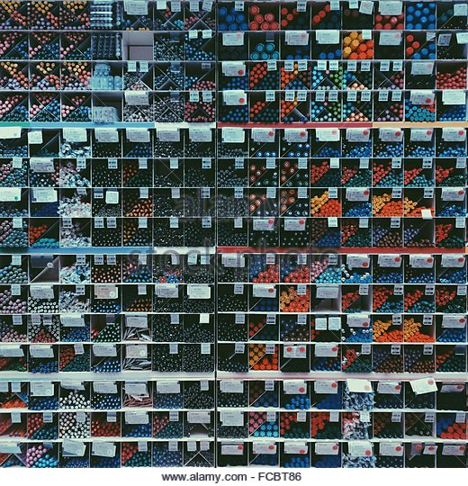Full Frame Shot Of Shelves - Stock-Bilder