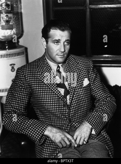 BENJAMIN BUGSY SIEGEL GANGSTER (1940) - Stock Image