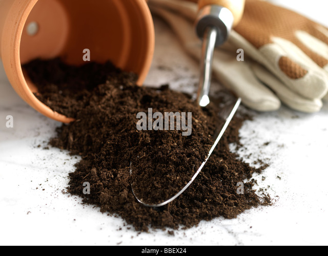 Clay soil close up stock photos clay soil close up stock for Clay potting soil