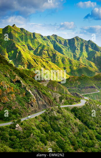Anaga Rural Park, Tenerife, Canary Islands, Spain - Stock Image