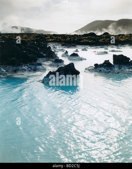 'The Blue Lagoon', Iceland - Stock Image