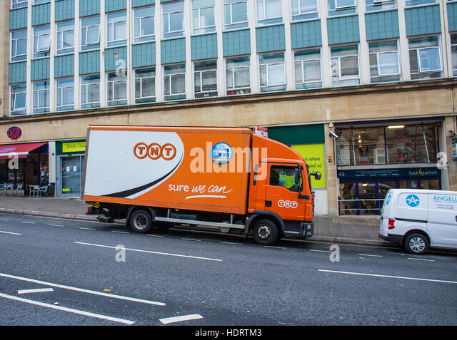 TNT delivery Truck - Stock Image