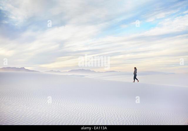 White Sands National Monument, New Mexico, USA - Stock-Bilder