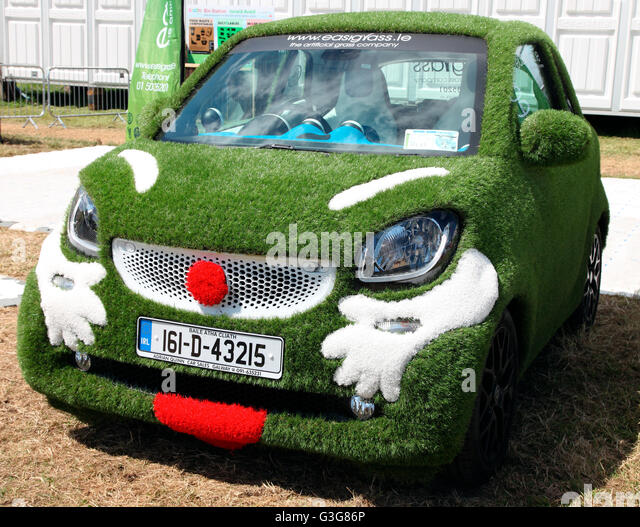 Easygrass car on show at Bloom 2016, Dublin - Stock-Bilder