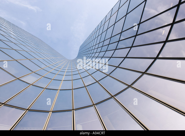 Skycraper, low angle view - Stock Image