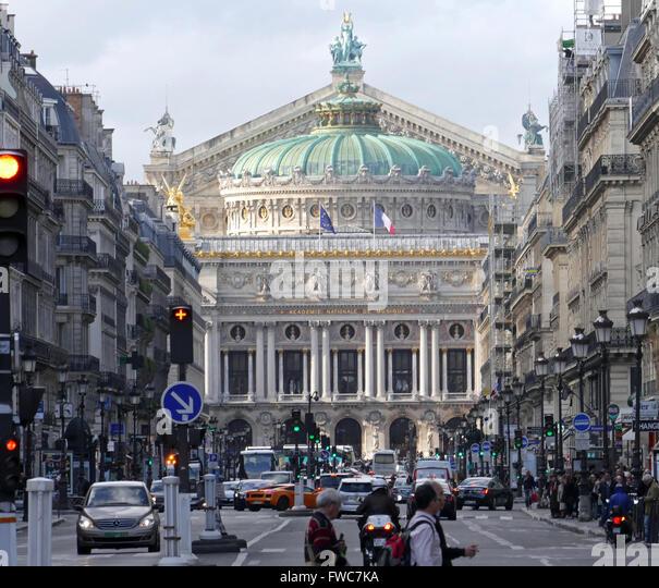 Academie Nationale de Music - Palais Garnier, Paris, France. - Stock Image