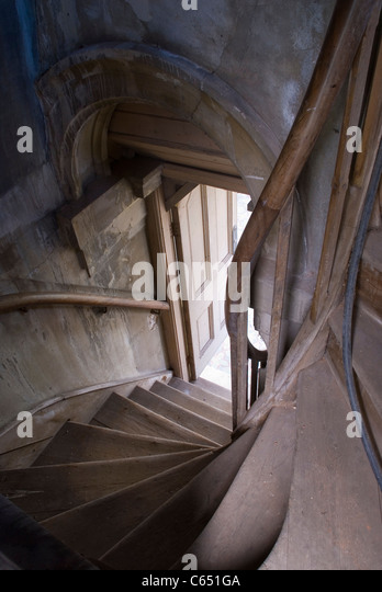 Staircase With Wooden Tower : Park place henley stock photos
