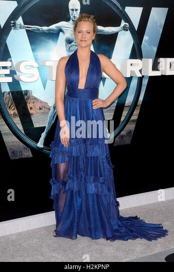 Los Angeles, CA, USA. 28th Sep, 2016. Ingrid Bolso Berdal at arrivals for WESTWORLD Premiere on HBO, TCL Chinese - Stock Image