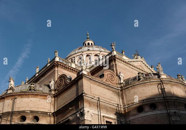 Steccata Church, Parma, Italy - Stock Image