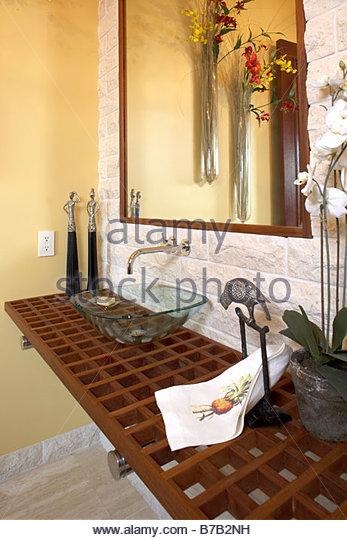 Contemporary bathroom - Stock-Bilder