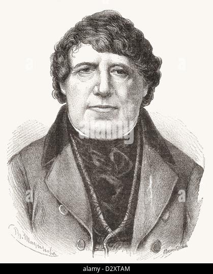 Daniel O'Connell, 1775– 1847, aka The Liberator The Emancipator. Irish political leader. - Stock Image