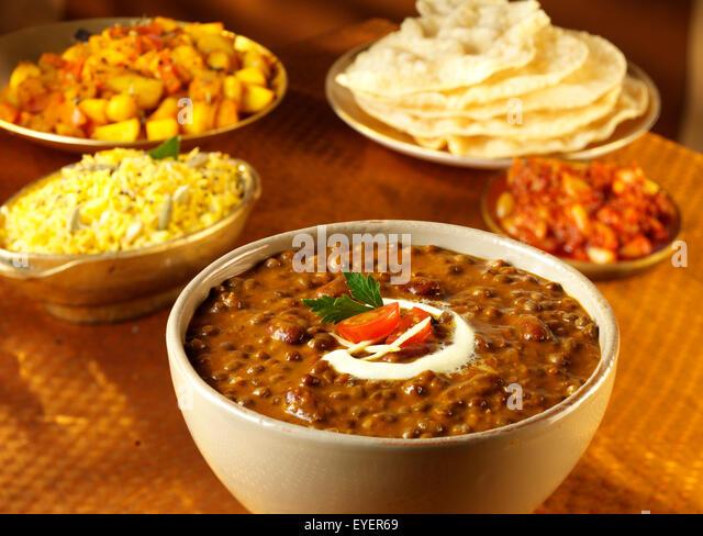 INDIAN LENTIL MAKANI DAL - Stock Image