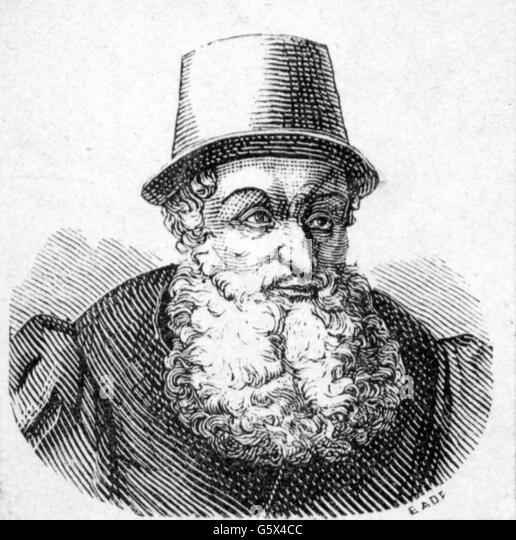 Adam Ries, 16th century - Stock Image