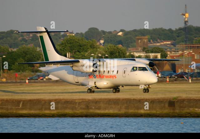 Scot Airways Dornier 328-110 - Stock Image