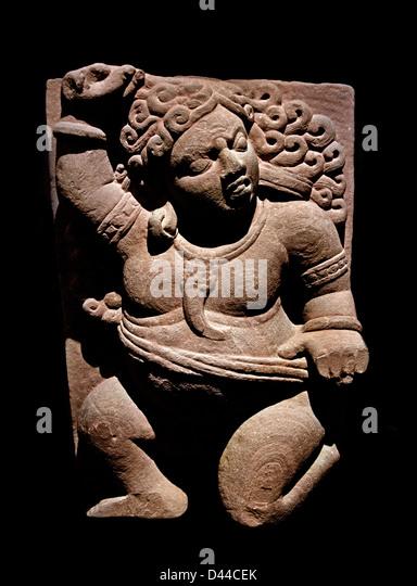 Shiva Ghana 5th Century India Hindu  Hinduism - Stock Image