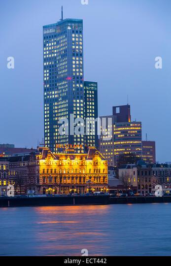 Frankfurt Hotel Skyline Blick