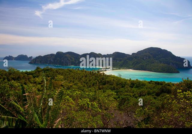 Phi Phi Islands Beaches Loh Dalum Tonsai Bay Long Beach: Loh Stock Photos & Loh Stock Images